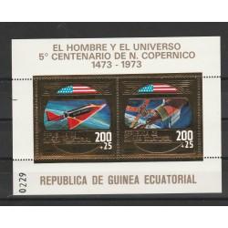 1973 GUINEA ECUATORIALE  COPERNICO  SPAZIO  1  BF MNH MF556891