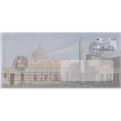 2013 VATICANO BUSTA POSTALE PAPA BENEDETTO XVI NUOVO MF81916