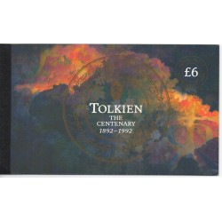 1992 GRAN BRETAGNA U.K. PRESTIGE BOOKLET TOLKIEN CENTENARY LP 14 MF28861