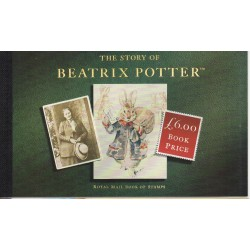 1993 GRAN BRETAGNA U.K. PRESTIGE BOOKLET BEATRIX POTTER LP 15 MF28860