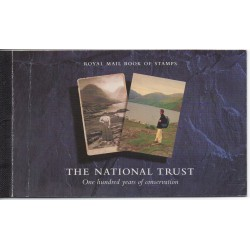 1995 GRAN BRETAGNA U.K. PRESTIGE BOOKLET NATIONAL TRUST LP 17 MF28858