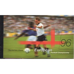 1996 GRAN BRETAGNA U.K. PRESTIGE BOOKLET EUROPEAN FOOTBALL LP 18 MF28857