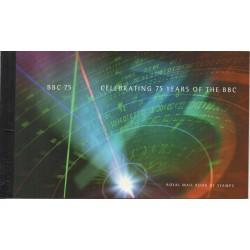 1997 GRAN BRETAGNA U.K. PRESTIGE BOOKLET 75 ANNIV. OF BBC LP 19 MF28856