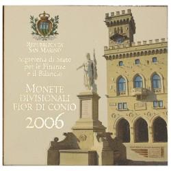 2006 SAN MARINO DIVISIONALE EURO 9 MONETE FDC IN CONFEZIONE MF28614