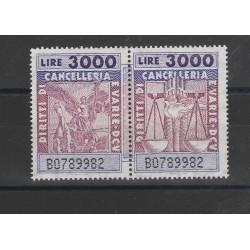 1945 - 1955 REPUBBLICA ITALIANA POSTA AEREA DEMOCRATICA 10 VAL MNH MF26726