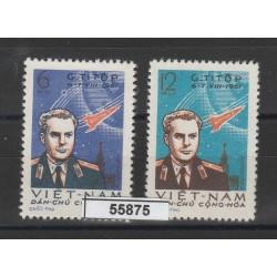 1961 VIETNAM DEL NORD  TITOV   2 VAL MNH   MF55875