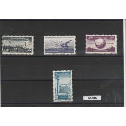 1949 SIRIA  75 - UPU  4 VALORI  MNH YVERT 32/33+PA 30/31   MF55785