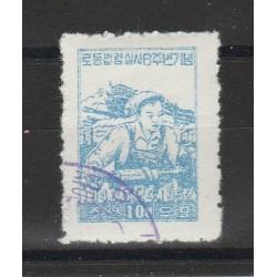 COREA  1952  ANNIV LEGGE SUL LAVORO   1 V  USATO MF55873