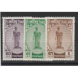 191955 THAILANDIA THILAND DONNE EROICHE  3 V MLH MF55899