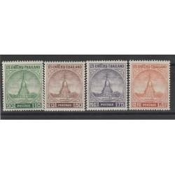 1955 THAILANDIA THILAND PAGODA CHEDI 4 V MNH MF559321