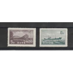 COREA  1959 TRASPORTI  3 V  MLH MF55909
