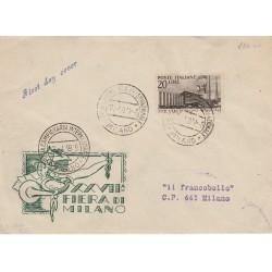 1951 CARTOLINA MAXIMUM SERIE CENTENARIO FRANCOBOLLI TOSCANA MF11057