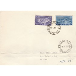 1951 FDC MONTECASSINO  MF55994