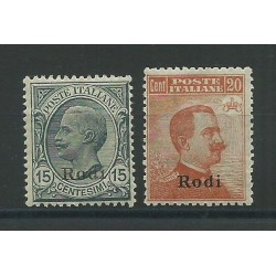 1918-22 ISOLE EGEO RODI...