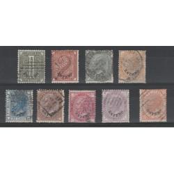 1874 LEVANTE EFFIGIE VITT EMANUELE II  9 VAL  USATI  MF56048