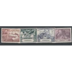 JAMAICA 1945 GEORGE VI  UPU  4 VAL  MNH YVERT N 149 -152 MF56092