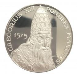 MEDAGLIA COMMEMORATIVA PAPALE PAPA GREGORIUS XIII 1575 ARGENTO SILVER 925 MF26172