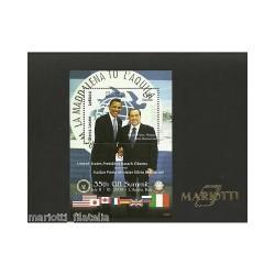 2009 SIERRA LEONE FOGLIETTO...