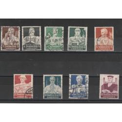 1934 GERMANIA TERZO REICHSOCCORSO INVERNALE  9 V USATI MF56398
