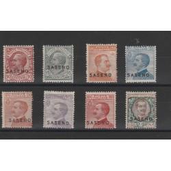 1923 SASENO SERIE COMPLETA 8 VAL NUOVI MLH MF56144