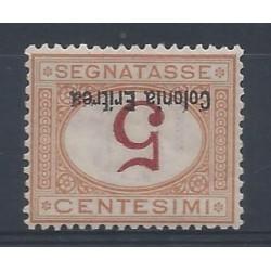 1920 -26 ERITREA SEGNATASSE...