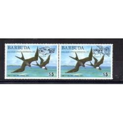 BARBUDA 1975 COOPERAZIONE SPAZIALE USA-URSS APOLLO SOYUZ 2 V MNH MF28922