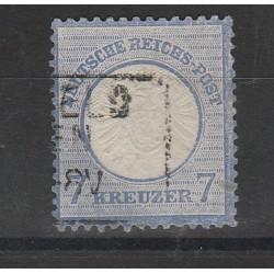 1872 GERMANIA REICH AQUILA GRANDE  1 V USATO  UNIF. 23  MF56561