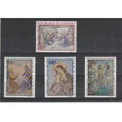 DAHOMEY 1968   QUADRI RELIGIOSI  4 V MNH MF56610