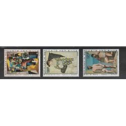 REPUBBLIQUE DU MALI 1967  QUADRI DI PICASSO   3  VAL  MNH MF56596