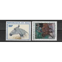 REPUBBLIQUE DU MALI 1967 QUADRI DI TOULUSE-LAUTREC  2 VAL  MNH MF56595