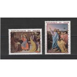 NIGER 1967 QUADRI  DI  INGRES 3 VAL MNH MF56622