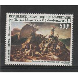 MAURITANIE MAURITANIA 1966 QUADRO RATTO DELLE SABINE 1 VAL MNH MF56634
