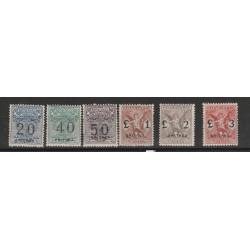 1924 ERITREA SEGNATASSE  VAGLIA 6 VAL NUOVI MLH MF56636