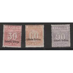 1916 ERITREA SERVIZIO COMMISSIONI 3 VAL NUOVI MLH MF56648