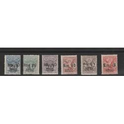 1924 SOMALIA TASSE VAGLIA SOPRASTAMPATI  6 VAL MLH  MF56640