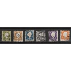 1911  ISLANDA ICELAND  SIGURDSSON  6 VALORI  USATI  MF56696