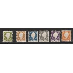 1911  ISLANDA ICELAND  SIGURDSSON  6 VAL NUOVI MLH MF56695