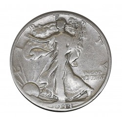 1944 - USA UNITED STATES - WALKING LIBERTY HALF DOLLAR - SILVER COIN MF28995