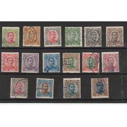 1920 ISLANDA ICELAND  CRISTIANO X°  16 VAL USATI  MF56686