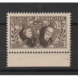 1928 LIECHTENSTEIN 70 PRINCIPE GIOVANNI II - UNIF N 87 - 1 VAL MNH  MF56837