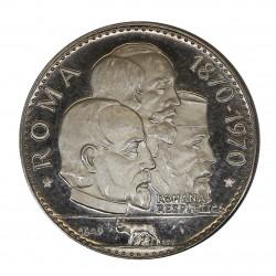 1970 RAS AL KHAIMA 15 RIYALS 100 REP. ROMANA SILVER PROOF MF29028