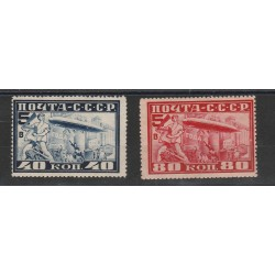 1930 RUSSIA URSS VOLO ZEPPELIN 2 VAL MLH MF56885