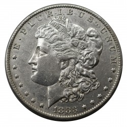1883 STATI UNITI ONE DOLLAR MORGAN - O - ARGENTO - SILVER ORIGINALE MF29142