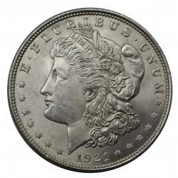 1921 STATI UNITI ONE DOLLAR MORGAN ARGENTO - SILVER ORIGINALE MF29143