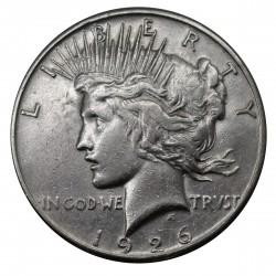 1926 STATI UNITI PEACE DOLLAR- S - ARGENTO - SILVER ORIGINALE MF29147