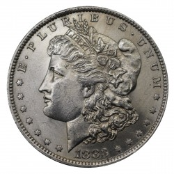 1883 STATI UNITI ONE DOLLAR MORGAN - O - ARGENTO - SILVER ORIGINALE MF29149