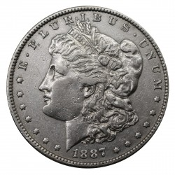 1887 STATI UNITI ONE DOLLAR MORGAN ARGENTO - SILVER ORIGINALE MF29151