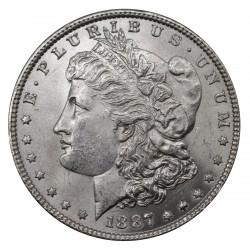 1887 STATI UNITI ONE DOLLAR MORGAN ARGENTO - SILVER ORIGINALE MF29156