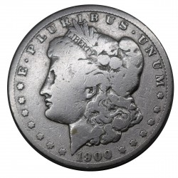 1900 STATI UNITI ONE DOLLAR MORGAN - O -ARGENTO - SILVER ORIGINALE MF29192