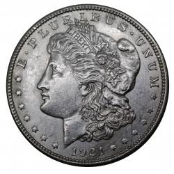 1921 STATI UNITI ONE DOLLAR MORGAN ARGENTO - SILVER ORIGINALE MF29193